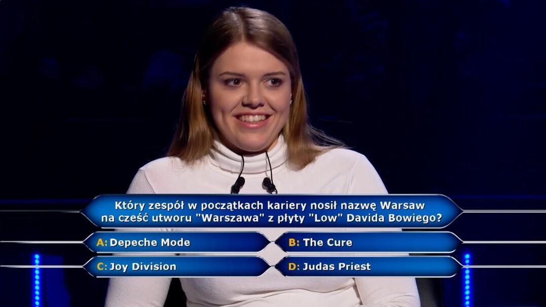 Depeche Mode, The Cure, Joy Division czy Judas Priest. Który z tych zespołów nosił nazwę Warsaw?