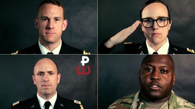 Amerykańscy żołnierze oddali hołd powstańcom