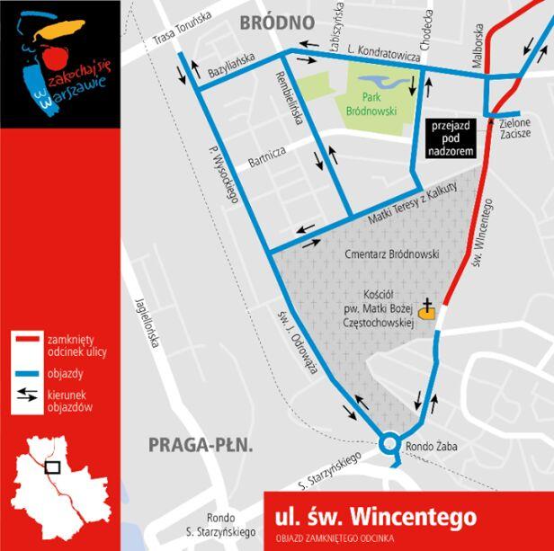 Frezowanie na św. Wincentego UM Warszawa
