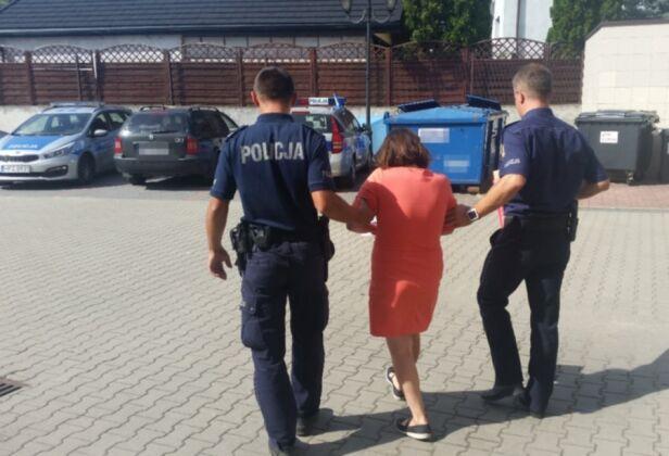 Miała ponad 2 promile alkoholu w organizmie Komenda Stołeczna Policji