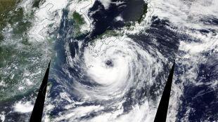 Burza tropikalna Krosa zagraża milionom Japończyków