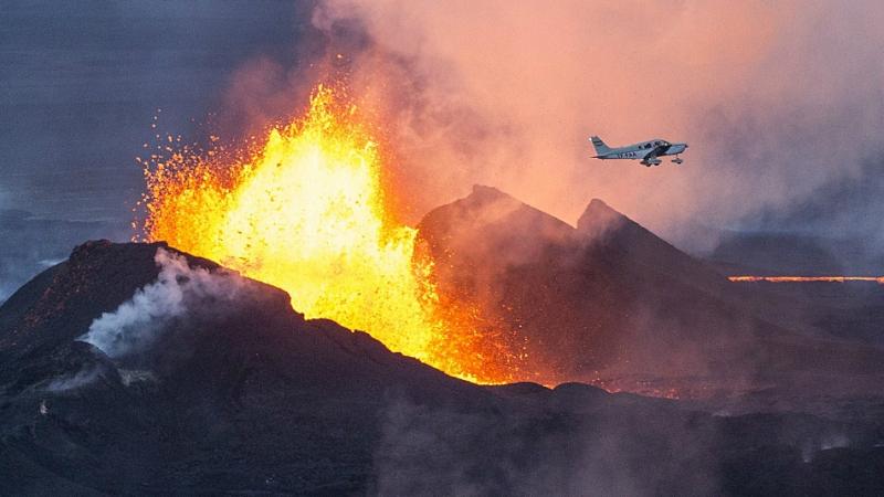 Erupcja wulkanu z września 2014 roku (flickr.com/Sparkle Motion (CC BY 2.0))