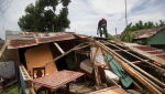 Zniszczenia na Dominikanie (PAP/EPA/Orlando Barría)