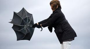 Silny wiatr w Polsce, ostrzeżenia w wielu regionach kraju