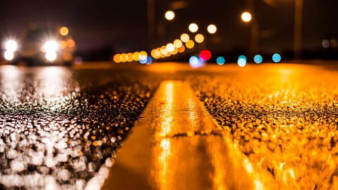 Śliskie drogi na południu kraju. <br />Żółte alarmy IMGW